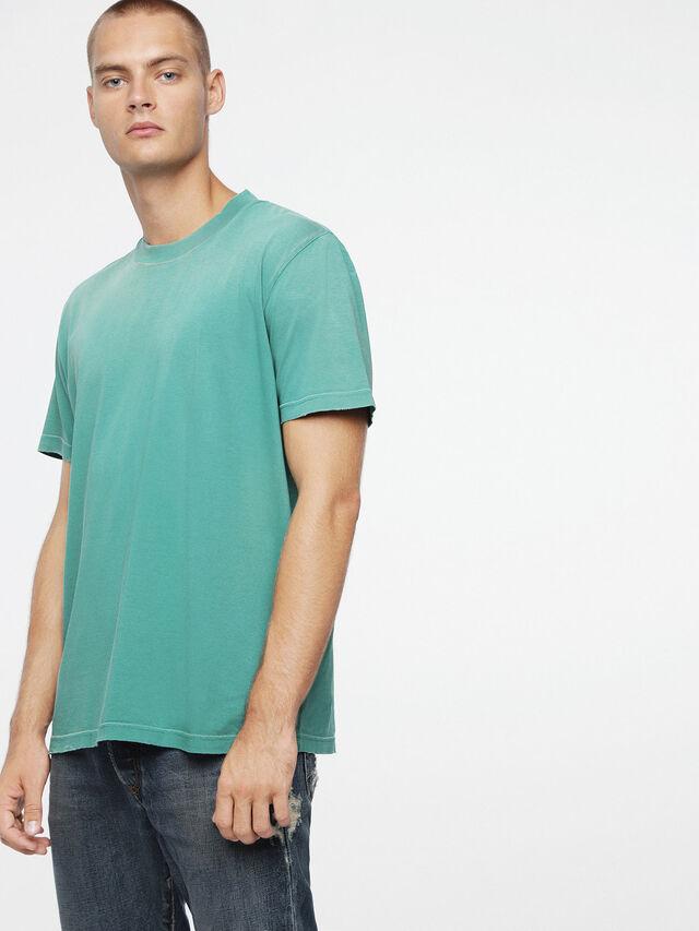 Diesel - T-JOEY-T, Wassergrün - T-Shirts - Image 1