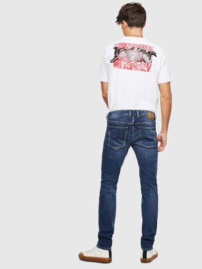 Diesel - Sleenker 0095F, Dunkelblau - Jeans - Image 5