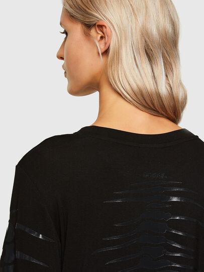 Diesel - T-HILARIOUS, Nero - T-Shirts - Image 3