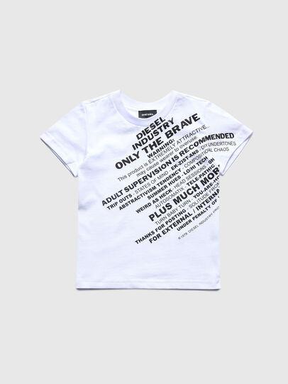 Diesel - TDIEGOS3B-R, Weiß - T-Shirts und Tops - Image 1