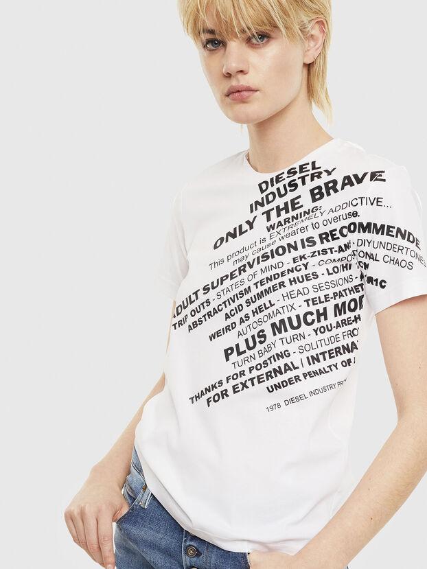 T-SILY-S1, Weiß - T-Shirts