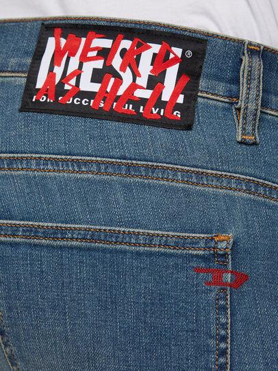 Diesel - D-Istort 009HC, Mittelblau - Jeans - Image 4