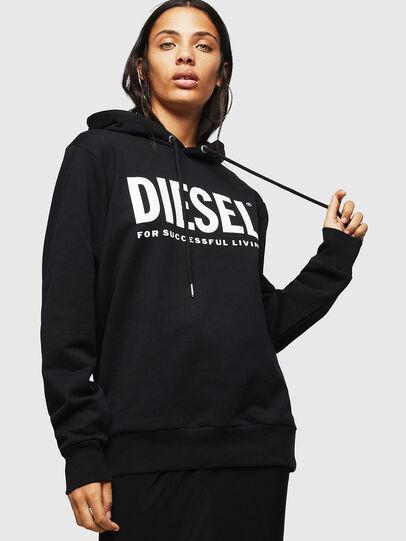 Diesel - F-GIR-HOOD-DIV-LOGO-,  - Sweatshirts - Image 1