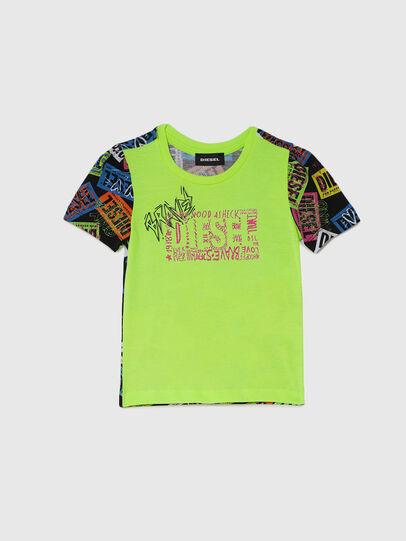 Diesel - TAIRB-R, Vert/Noir - T-shirts et Hauts - Image 1