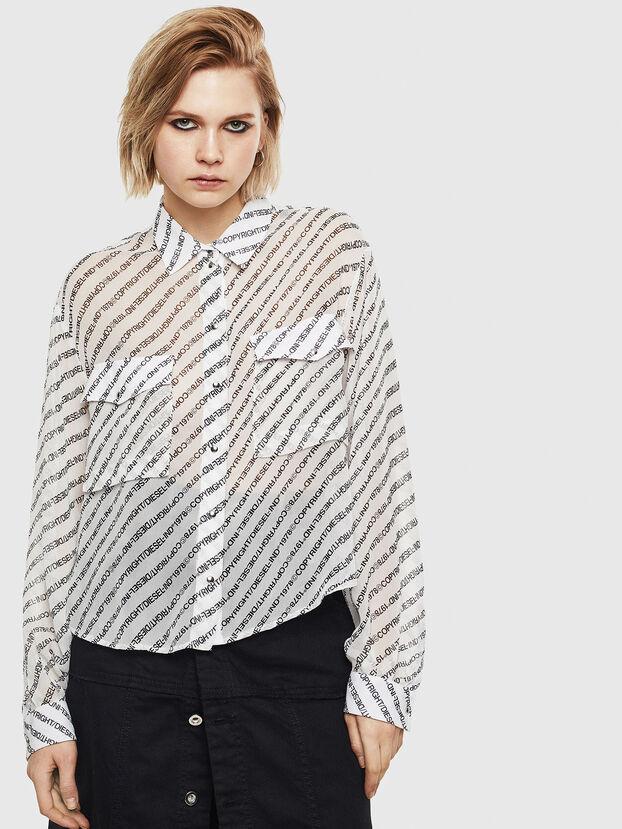 C-SUPERIOR, Weiß/Schwarz - Hemden