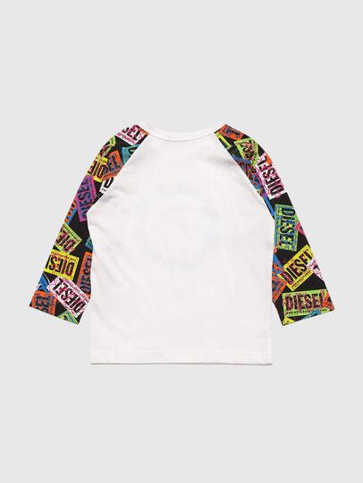 Diesel - TENTYB, Blanc - T-shirts et Hauts - Image 2