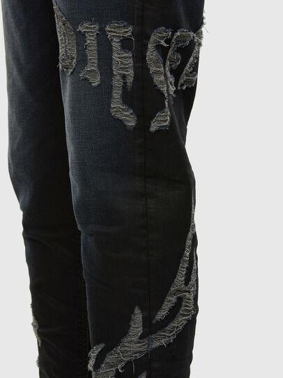 Diesel - D-VIDER JoggJeans® 009HE, Dunkelblau - Jeans - Image 4