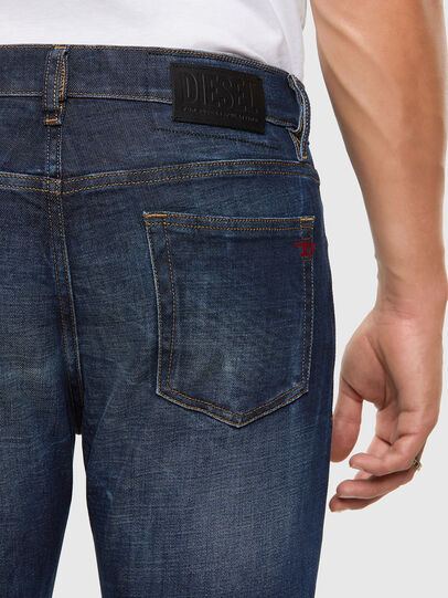 Diesel - D-Strukt 009GQ, Dunkelblau - Jeans - Image 4