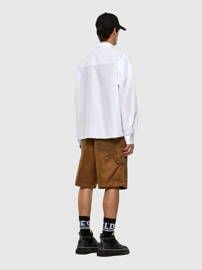 Diesel - S-LOOMY-A, Weiß - Hemden - Image 5