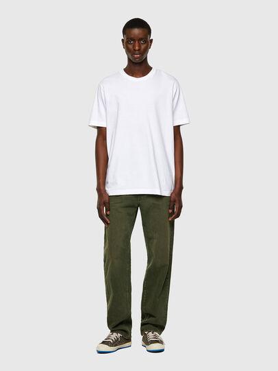 Diesel - T-JUSPOCK, Bianco - T-Shirts - Image 4