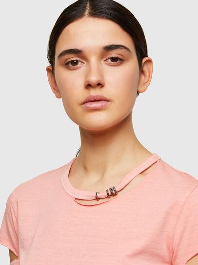 Diesel - T-BULLOCK-A1, Rose - T-Shirts - Image 3