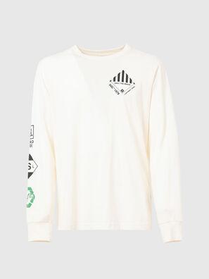 T-JUST-LS-N60, Weiß - T-Shirts
