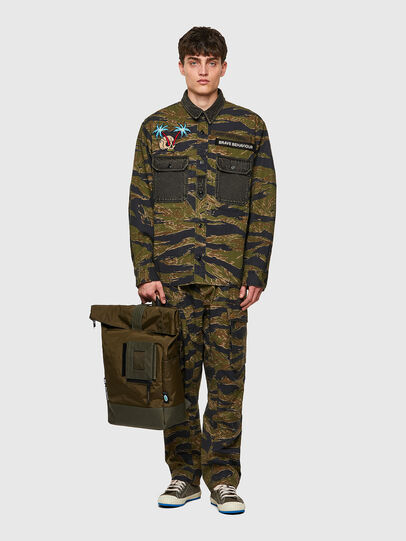 Diesel - SHINOBI, Vert Camouflage - Sacs à dos - Image 6