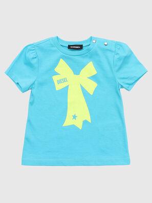 TASHAB, Azurblau - T-Shirts und Tops