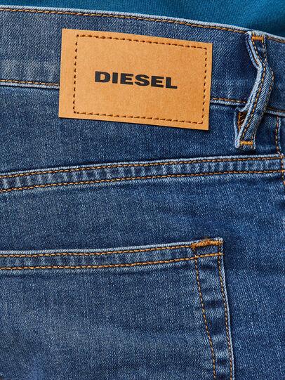Diesel - D-Luster 009DG, Bleu moyen - Jeans - Image 4