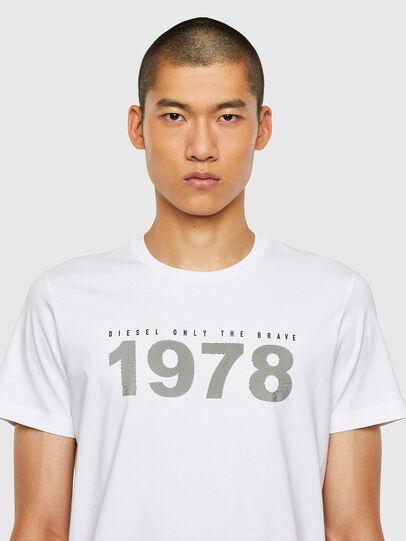Diesel - T-DIEGOS-N33, Weiß - T-Shirts - Image 3