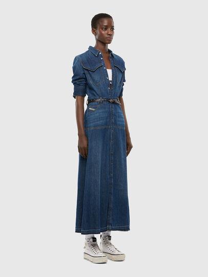 Diesel - DE-JOANNY, Medium blue - Dresses - Image 7