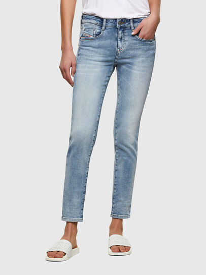 Diesel - D-Ollies JoggJeans® 069UX, Bleu Clair - Jeans - Image 1