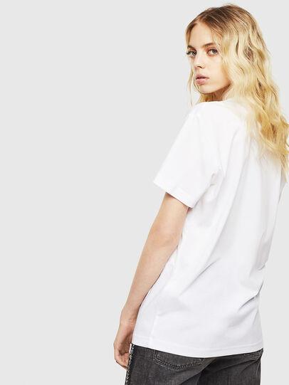 Diesel - T-DIEGO-J8, Weiß - T-Shirts - Image 4
