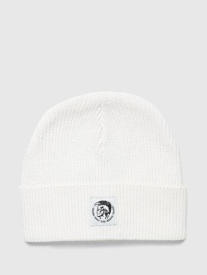 Diesel - K-CODER-F, Bianco - Cappelli invernali - Image 1