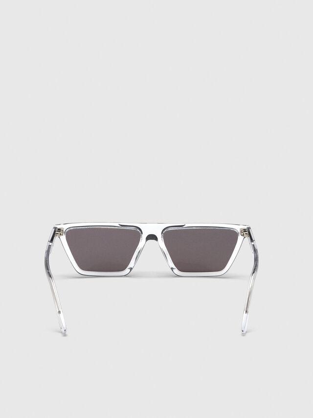 Diesel - DL0304, Weiß - Sonnenbrille - Image 4