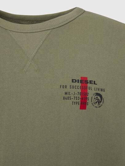 Diesel - UMLT-WILLY, Olivgrün - Sweatshirts - Image 3