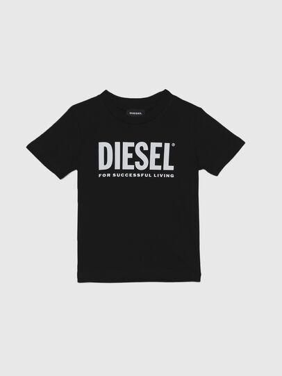 Diesel - TJUSTLOGOB-R, Noir - T-shirts et Hauts - Image 1