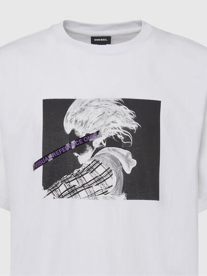 Diesel - T-TUBOLAR-X20, Weiß - T-Shirts - Image 3