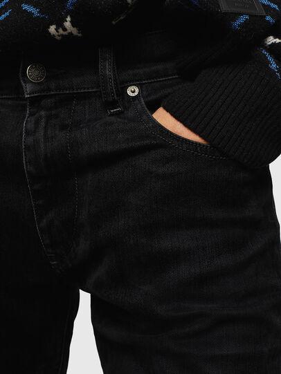 Diesel - D-Strukt 0091I, Schwarz/Dunkelgrau - Jeans - Image 6