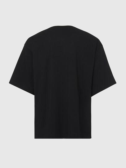 Diesel - T-BALL-X2, Schwarz - T-Shirts - Image 2