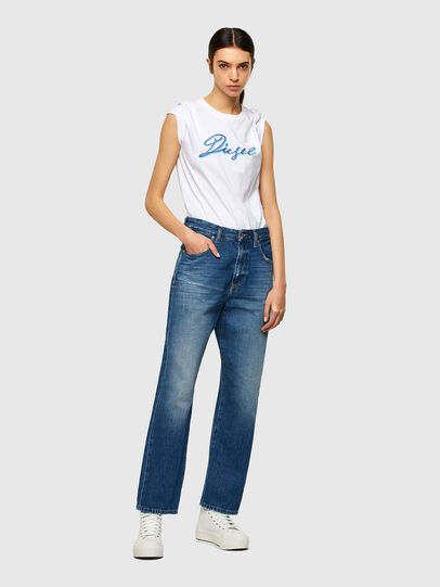 Diesel - T-SILY-K10, Blanc - T-Shirts - Image 4