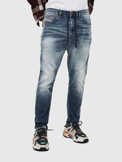 Diesel - D-Vider JoggJeans 069IP, Mittelblau - Jeans - Image 1