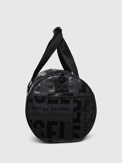 Diesel - X-BOLD DUFFLE, Black - Travel Bags - Image 3