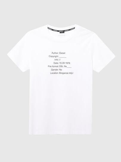 Diesel - UFTEE-ELODIE, Blanc - T-Shirts - Image 1