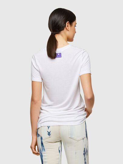 Diesel - T-SILY-A8, Blanc - T-Shirts - Image 2
