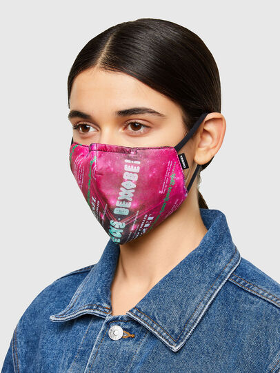 Diesel - FACEMASK-UNIVERSE-PI, Pink - Other Accessories - Image 3
