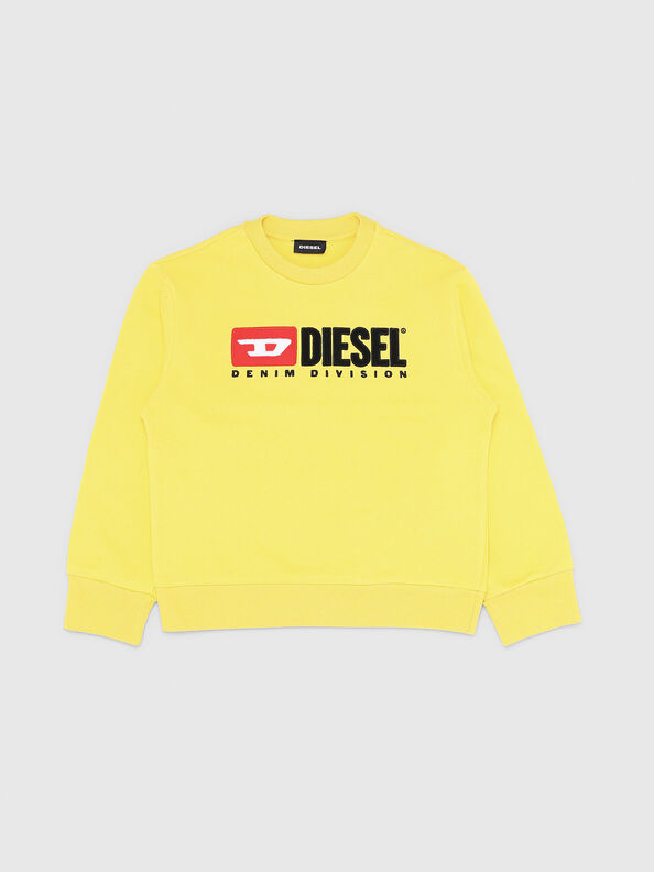 SCREWDIVISION OVER, Gelb - Sweatshirts