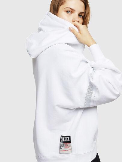 Diesel - F-AVAL, Weiß - Sweatshirts - Image 3