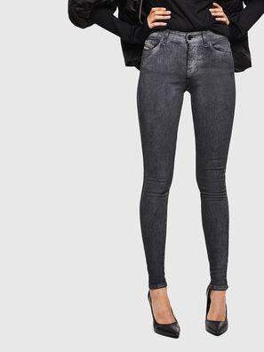 Slandy 069JV, Dunkelgrau - Jeans