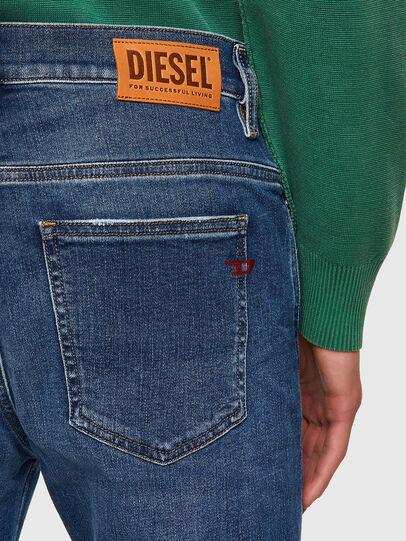 Diesel - D-Istort 009PU, Blu medio - Jeans - Image 4