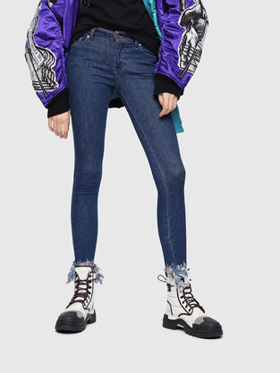 Slandy 088AT, Mittelblau - Jeans