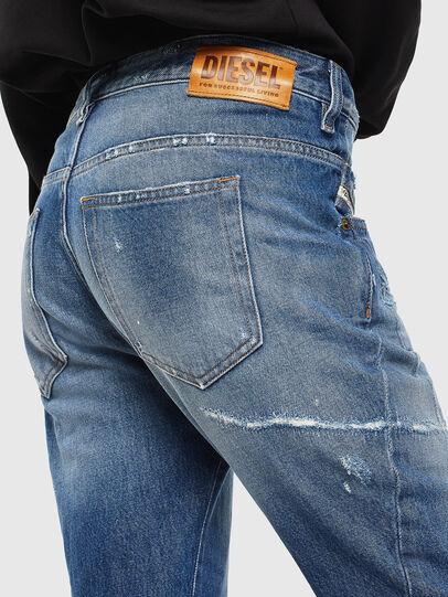 Diesel - Fayza 0097B, Mittelblau - Jeans - Image 4