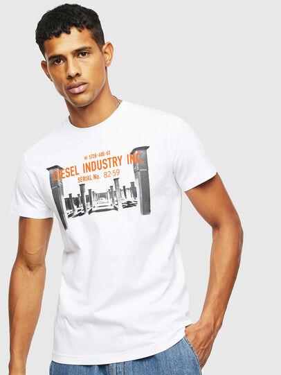 Diesel - T-DIEGO-S13, Weiß - T-Shirts - Image 1