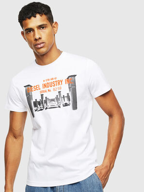 T-DIEGO-S13, Weiß - T-Shirts