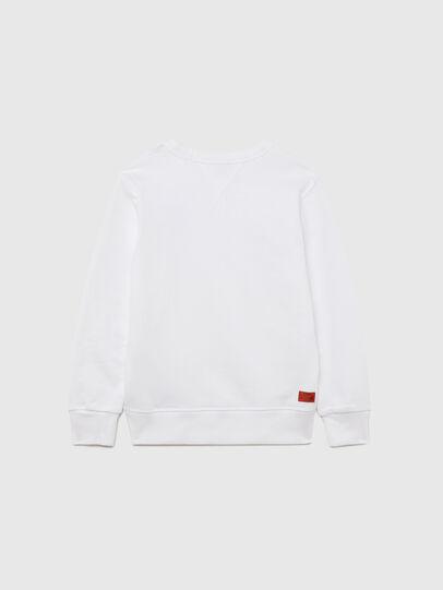 Diesel - UMLT-SWILLYZ, Weiß - Sweatshirts - Image 2