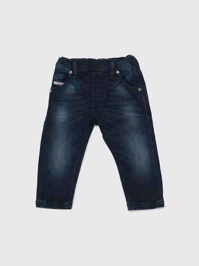Diesel - KROOLEY-NE-B-N, Blu Scuro - Jeans - Image 1