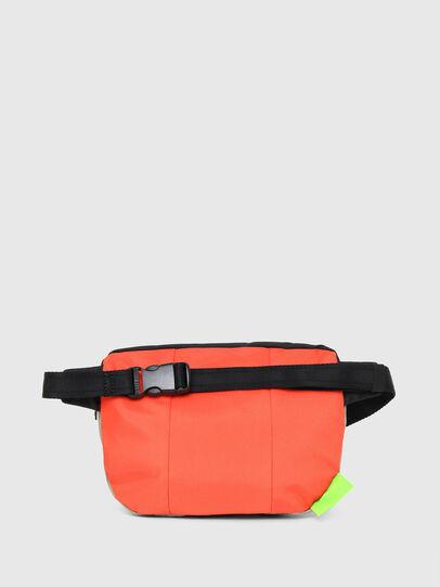 Diesel - LOKI, White/Orange - Crossbody Bags - Image 2