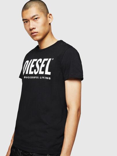 Diesel - T-DIEGO-LOGO, Schwarz - T-Shirts - Image 4
