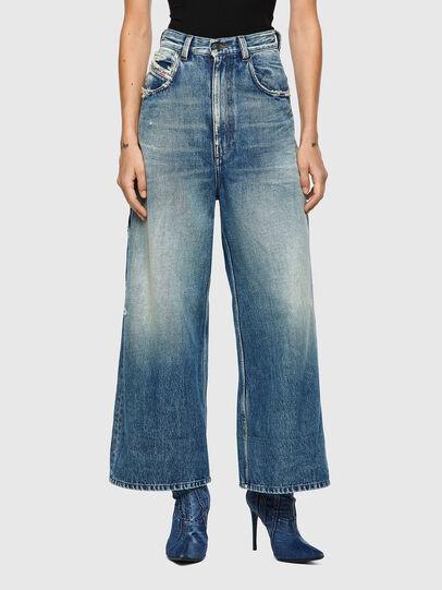 Diesel - D-Luite 09A58, Blu medio - Jeans - Image 1