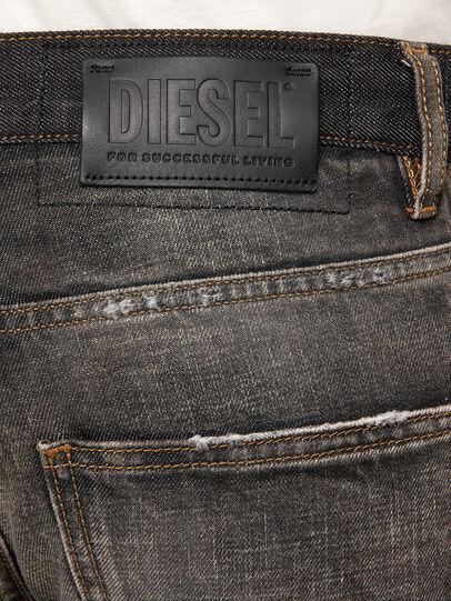Diesel - D-Kras 009EA, Schwarz/Dunkelgrau - Jeans - Image 5